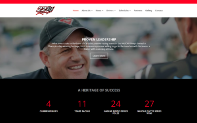 22 Racing Announces Launch of New Website