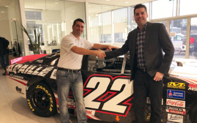 Marc-Antoine Camirand and GM Paillé Engage Full-Time in the NASCAR Pinty's Series
