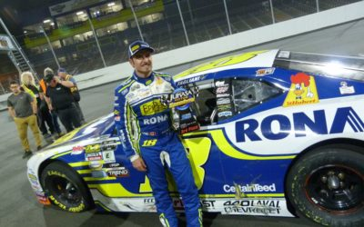 Alex Tagliani Ready to Battle for the NASCAR Pinty's Championship Title this Weekend at Jukasa Motor Speedway