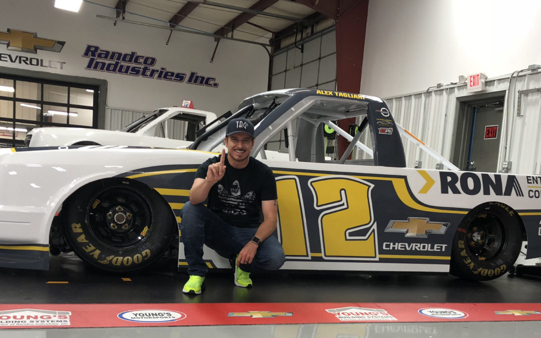 "RONA ""Contractors Division"" to Sponsor Tagliani's NASCAR Truck Efforts But First, Tag Focuses on Defending Trois-Rivières Title"