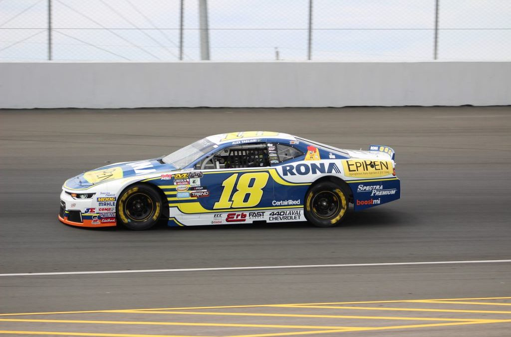 Alex Tagliani Ends the 2018 NASCAR Pinty's Series Season in Second Place in the Drivers Championship