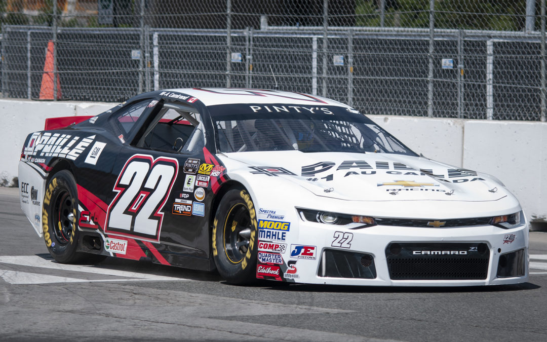 Marc-Antoine Camirand and GM Paillé Return  Full-Time in NASCAR Pinty's