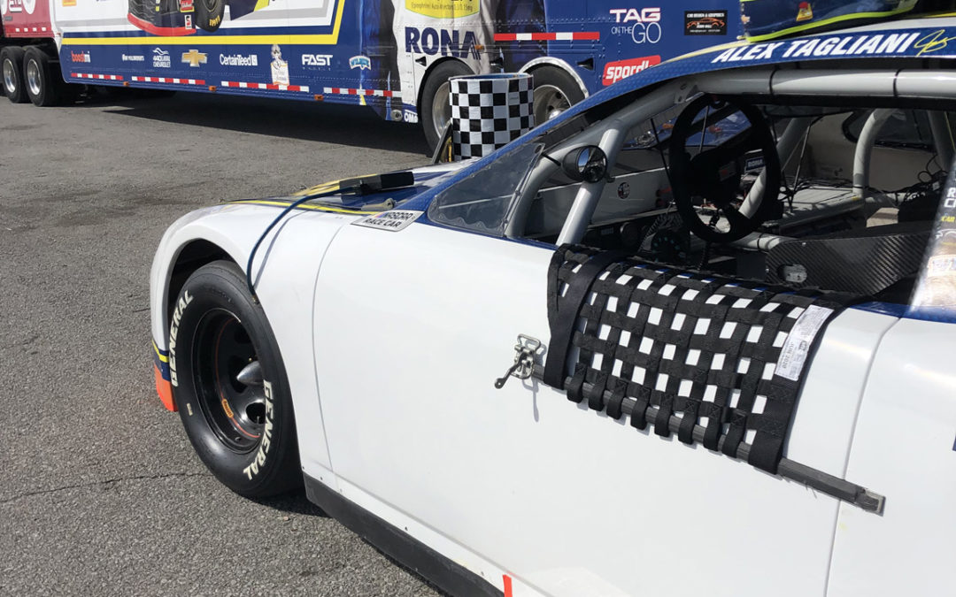 Alex Tagliani Test Report on the New NASCAR Pinty's Series Racing Tire at Canadian Tire Motorsport Park