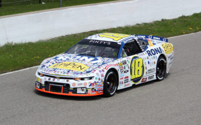 An 11th Place Finish for Alex Tagliani in the NASCAR Pinty's Series Opener at Canadian Tire Motorsport Park