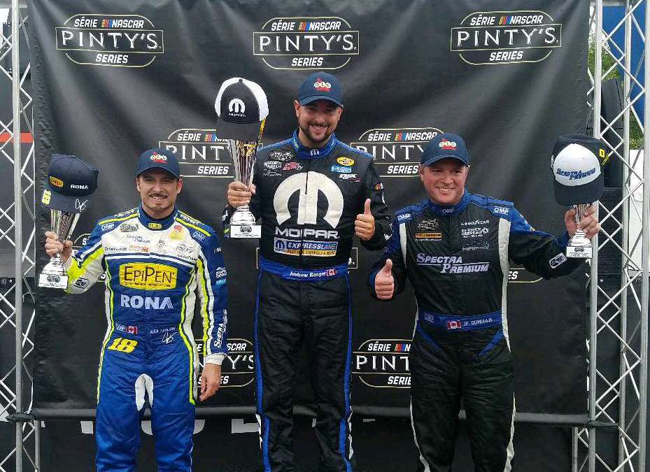 Alex Tagliani Looking to Conquer Toronto Street Course Once Again in the NASCAR Pinty's Series Race on Saturday