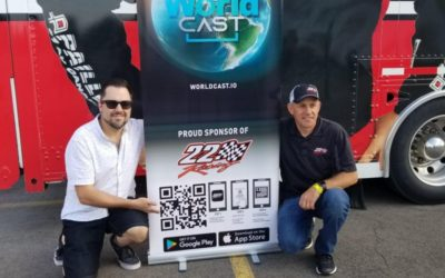 22 Racing Partners with WorldCAST to Bring Augmented Reality Experiences to NASCAR Pinty's Series Fans