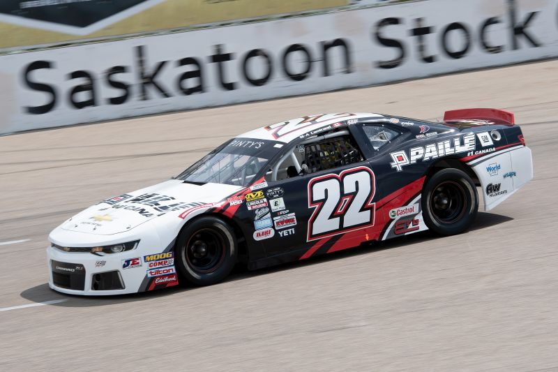 Two Top-10s for Camirand in Twin 125s races – NASCAR Pinty's Series—Wyant Group Raceway