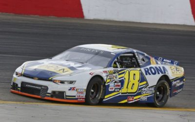 Rain the Big Spoiler for Fans and Alex Tagliani  in the NASCAR Pinty's Western Swing