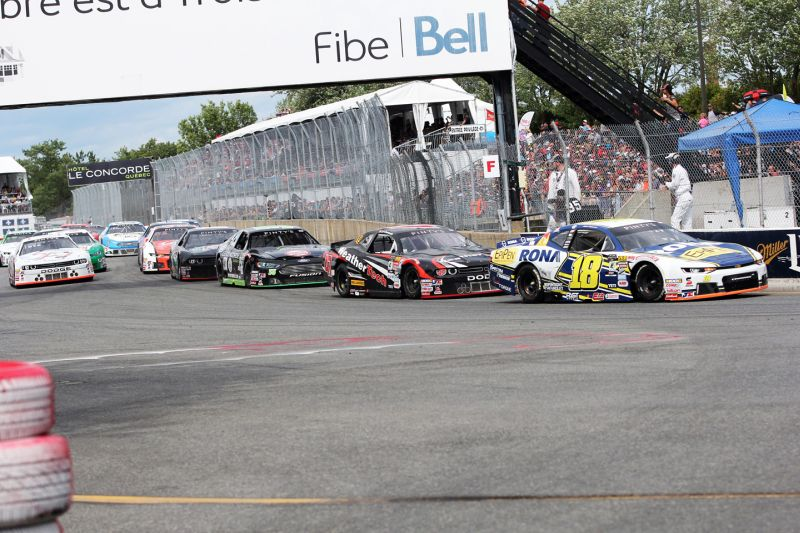 Alex Tagliani Takes Second Place at the NASCAR Pinty's Grand Prix of Trois-Rivières