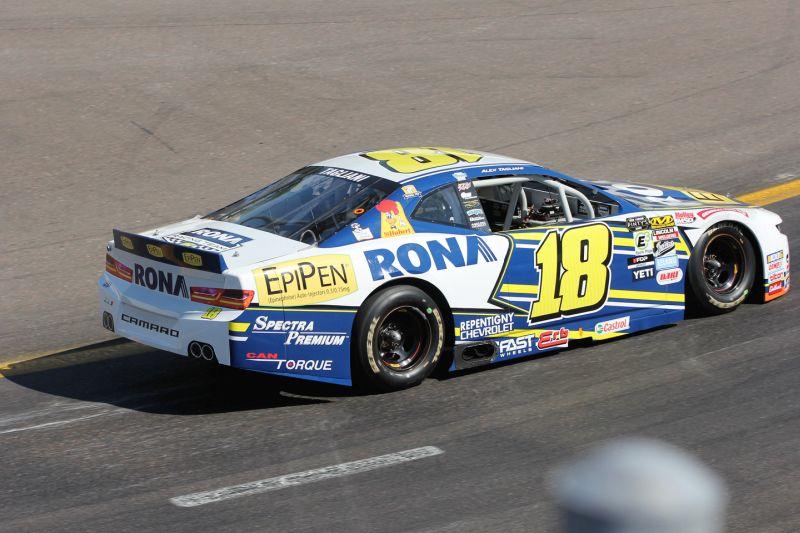 Deuxième podium consécutif pour Alex Tagliani en série NASCAR Pinty's