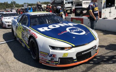 Seventh-Place Finish for Alex Guénette in the NASCAR Pinty's Race in New Hampshire