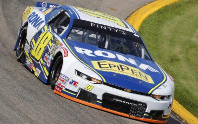 Alex Tagliani espère son retour à Jukasa, mais entre-temps, il cède son volant NASCAR Pinty's à Alex Guénette pour la course du New Hampshire