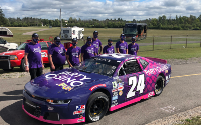 J.R. Fitzpatrick Returns to the NASCAR Pinty's Series in Style