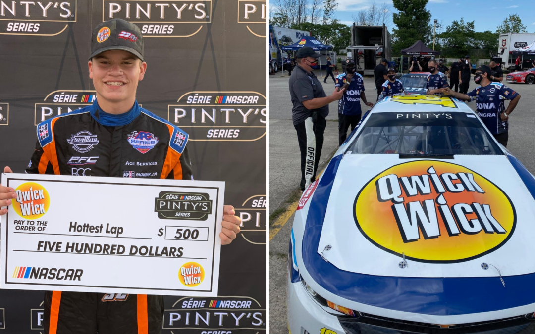 Treyten Lapcevich Impresses in Pinty's Series Debut at Sunset Speedway
