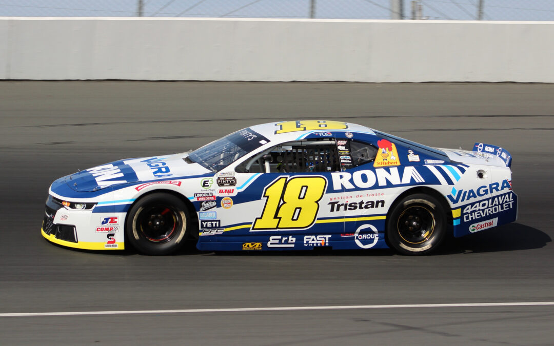 Alex Tagliani Finishes 5th in NASCAR Pinty's 125 Race at Jukasa Motor Speedway