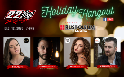 22 Racing Invites Race Fans to a Live Virtual Holiday Hangout