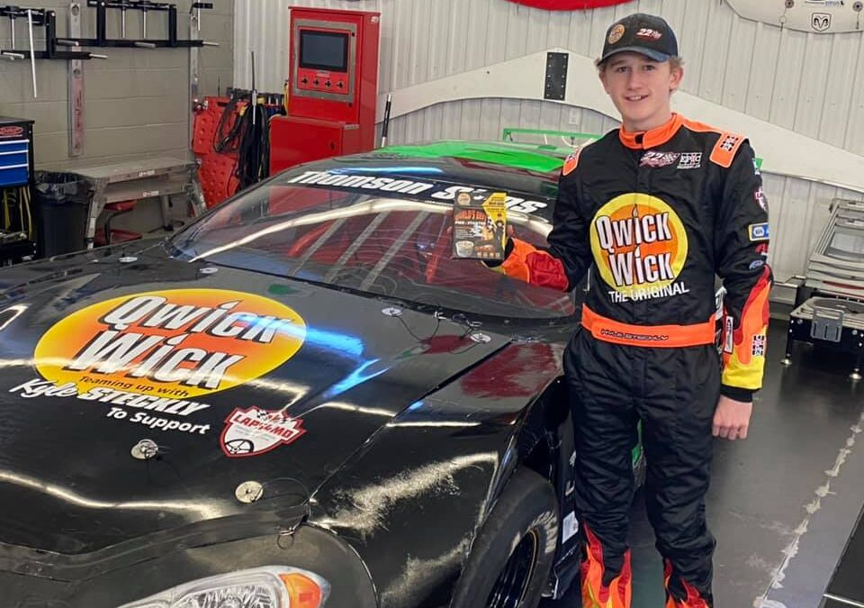 Steckly Steps Up to Pro Late Models with Qwick Wick and AW Millwrights