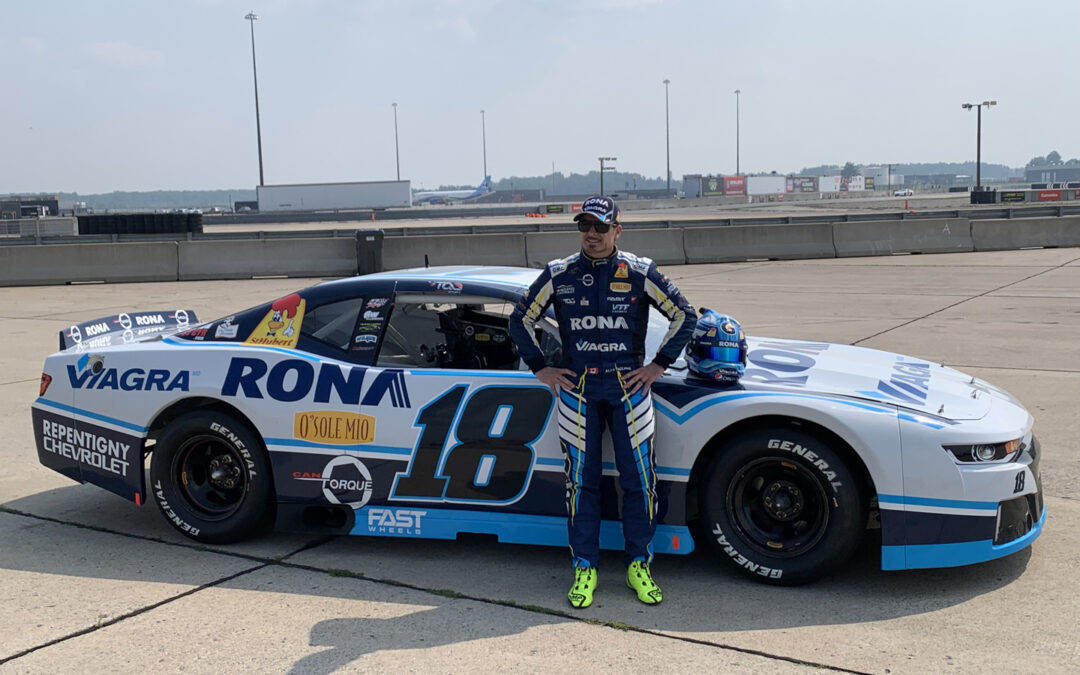 Alex Tagliani Will Start His 2021 NASCAR Pinty's Season on Winning Ground with a Double Header at Sunset Speedway