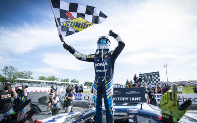 Great Win for Alex Tagliani in the NASCAR Pinty's Race at the Grand Prix of Trois-Rivières