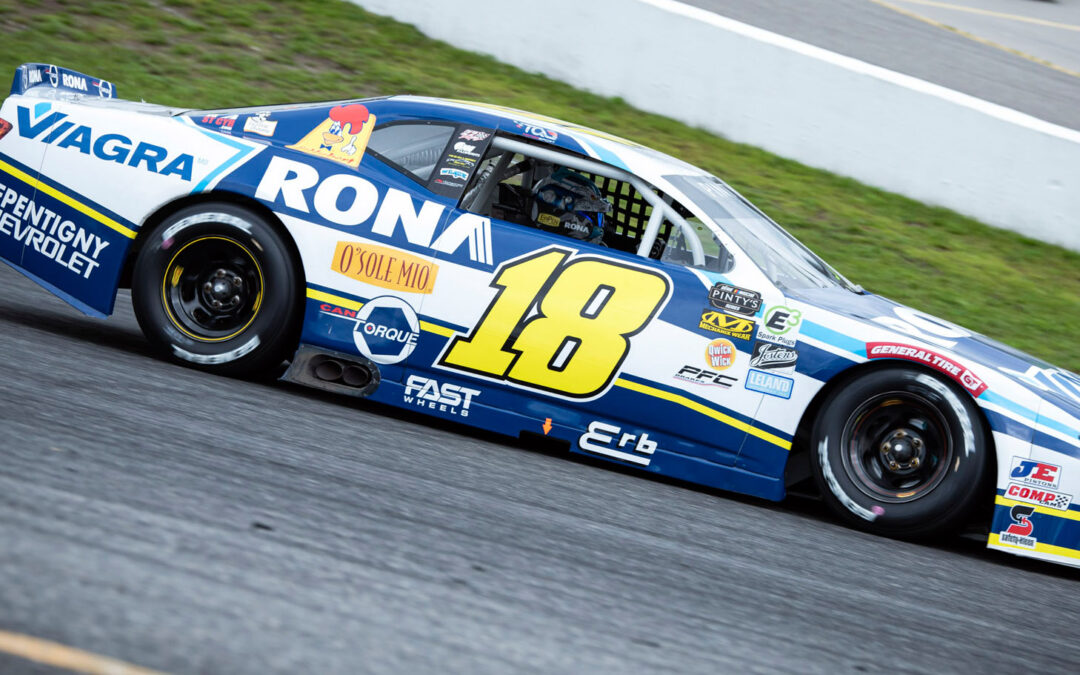 Alex Tagliani Finishes Fourth at Flamboro Speedway and Keeps the Lead in the NASCAR Pinty's Drivers Championship